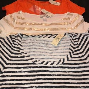 Ann Taylor and Ann Taylor loft size SM &SP NWT 3pc